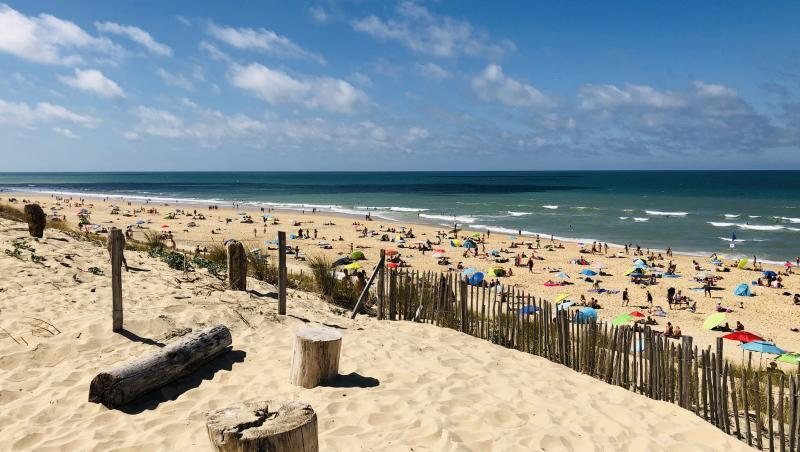 Wind report Le Porge - France (33) 2020-08-25 13:00:00