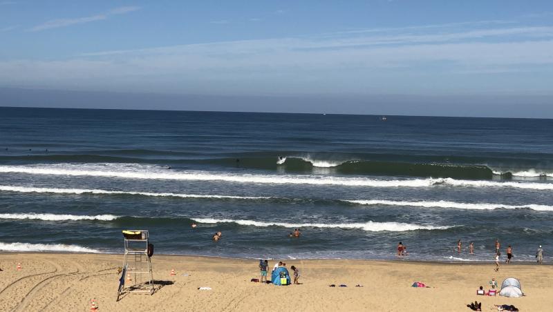 Surf report Le Porge - France (33) 2020-08-27 10:00:00