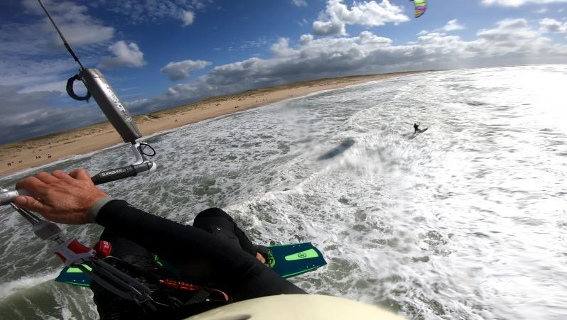 Wind report Le Grand Crohot - France (33) 2020-09-27 15:00:00