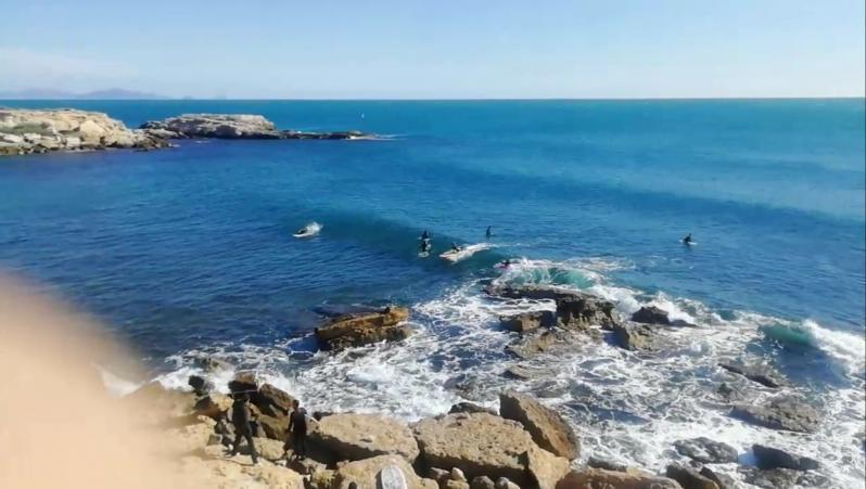 Surf report L'Arquet - France (13) 2020-10-11 16:00:00