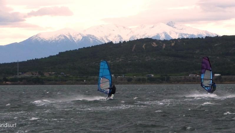 Wind report Le Barcarès - Cap Coudalère  - France (66) 2020-12-01 17:00:00