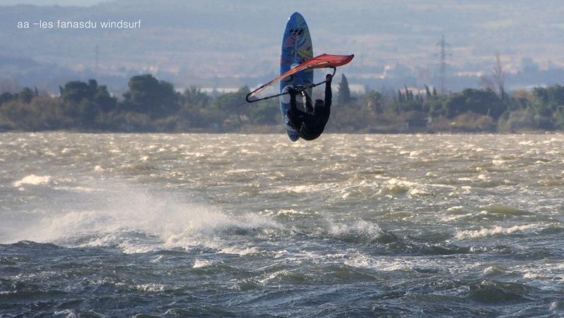 Wind report Le Barcarès - Cap Coudalère  - France (66) 2020-12-09 16:00:00