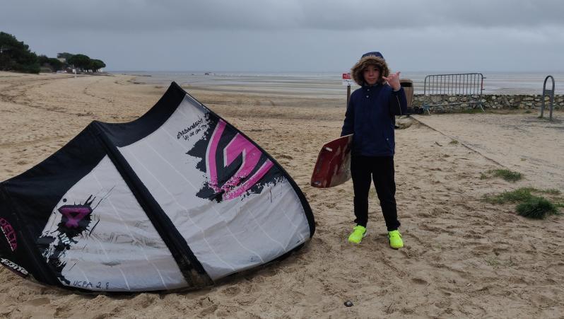 Wind report Andernos - Le Betey - France (33) 2020-12-23 11:00:00