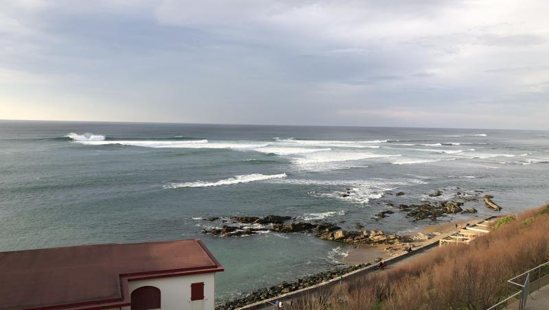 Surf report Guethary Parlementia - France (64) 2021-02-20 17:00:00