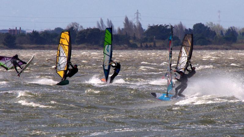 Wind report Le Barcarès - Cap Coudalère  - France (66) 2021-03-21 17:00:00