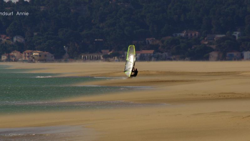 Wind report Leucate - Les Coussoules - France (11) 2021-03-25 17:00:00