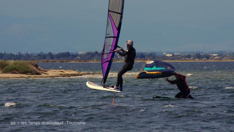 Wind report le Barcarès - Eole - France (66) 2021-05-02 16:00:00