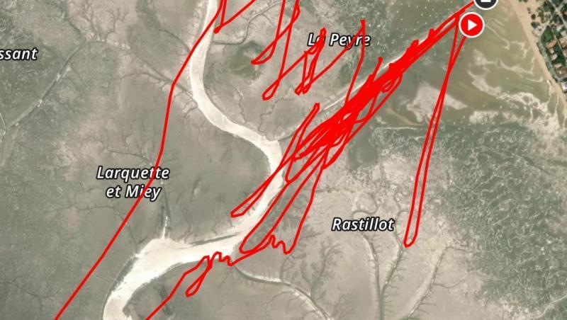 Wind report FR, Andernos - Le Betey (33) posté par snake