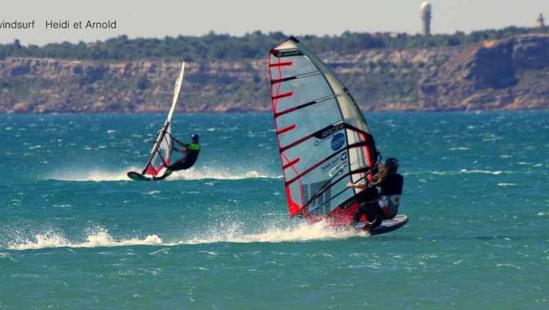 Wind report Leucate - Les Coussoules - France (11) 2021-07-17 15:00:00