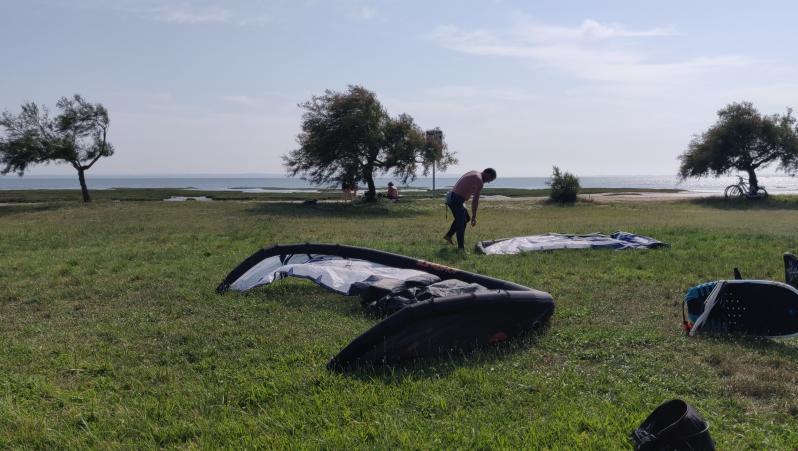 Wind report Taussat - Club Nautique - France (33) 2021-07-20 16:00:00