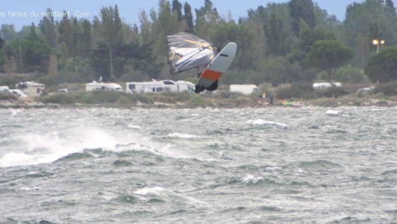 Wind report Le Barcarès - Cap Coudalère  - France (66) 2021-07-31 15:00:00