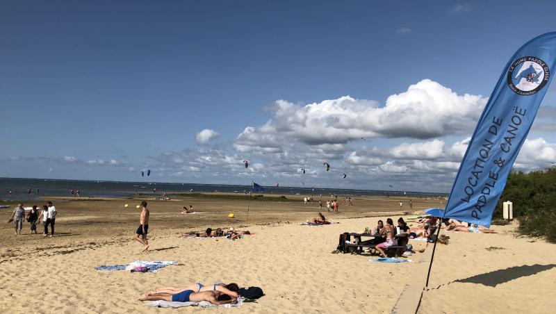 Wind report La Hume - France (33) 2021-08-22 17:00:00