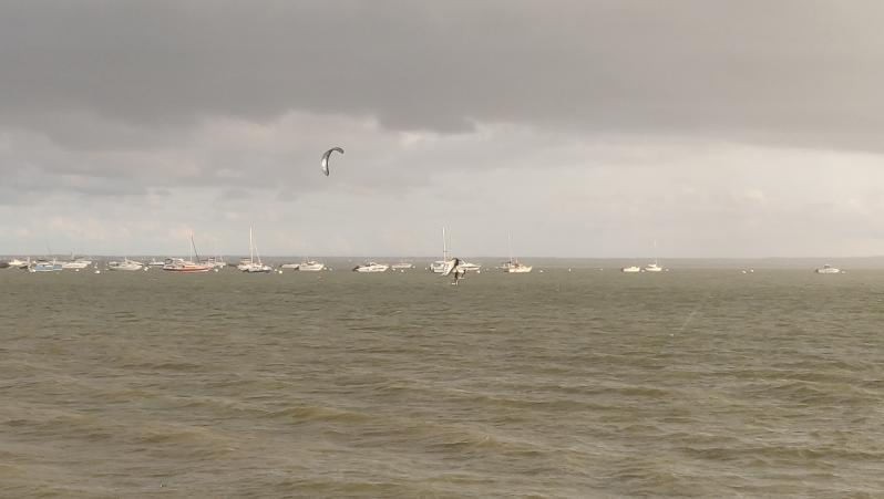 Wind report Andernos - Le Betey - France (33) 2021-09-09 17:00:00