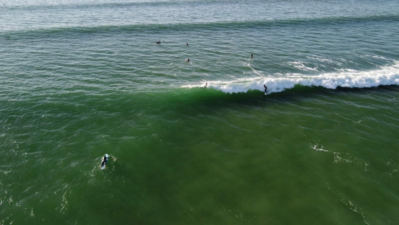Surf report FR, Le Grand Crohot (33) posté par snake
