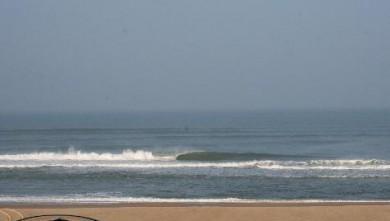 Surf report FR, Cap-Ferret - Plage de L'Horizon (33) du 2007-10-12 12:00:00