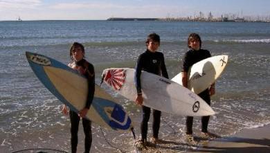 Surf report FR, Palavas-les-Flots - Rive Droite (34) du 2007-10-30 12:00:00