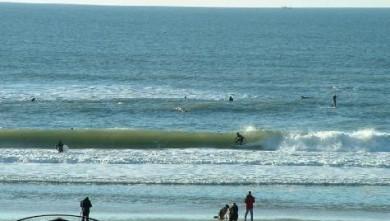 Surf report FR, Lacanau Océan - La Nord (33) du 2007-11-01 12:00:00