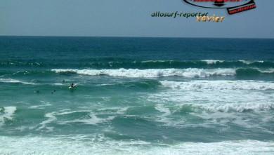 Surf report FR, Lacanau Océan - La Nord (33) du 2007-06-16 16:00:00