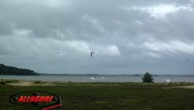 wind report FR, Lacanau Lac (33) du 2007-07-10 15:00:00