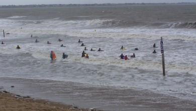 Surf report FR, Gohaud (44) du 2007-08-15 12:00:00