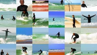 Surf report FR, Mimizan - Plage Garluche (40) du 2007-09-30 14:00:00