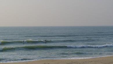 Surf report FR, Le Porge (33) du 2007-10-12 17:00:00