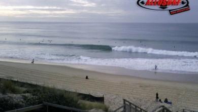 Surf report FR, Biscarrosse Plage (40) du 2007-12-22 14:00:00
