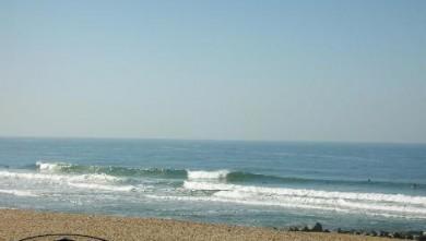 Surf report FR, Anglet La Madrague (64) du 2007-11-10 12:00:00
