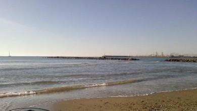 Surf report FR, Palavas-les-Flots - Rive Droite (34) du 2007-11-25 12:00:00