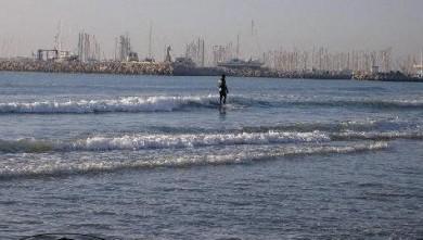 Surf report FR, Palavas-les-Flots - Rive Droite (34) du 2007-11-29 12:00:00