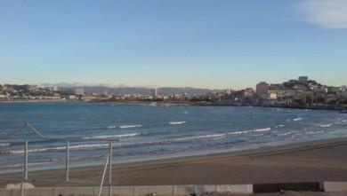 Surf report FR, Le Prado (13) du 2007-12-04 12:00:00
