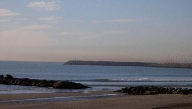 Surf report FR, Palavas-les-Flots - Rive Droite (34) du 2007-12-05 12:00:00