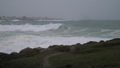 wave report FR, La Torche (29) du 2007-12-08 12:00:00