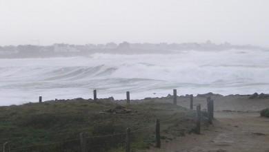 Surf report FR, La Torche (29) du 2007-12-09 12:00:00