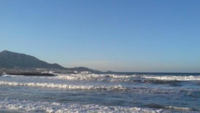 Surf report FR, Le Prado (13) du 2007-12-11 12:00:00