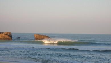 wave report FR, Biarritz - Grande Plage (64) du 2007-12-14 12:00:00