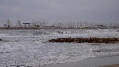 Surf report FR, Palavas-les-Flots - Rive Droite (34) du 2007-10-17 12:00:00