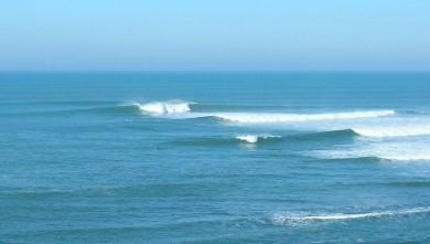Surf report FR, Guethary Parlementia (64) du 2007-12-16 12:00:00