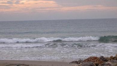 Surf report FR, Palavas-les-Flots - Rive Droite (34) du 2007-10-25 12:00:00