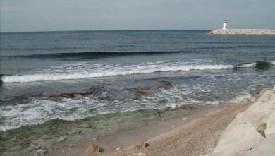 Surf report FR, Sausset les Pins - Plage du Port (13) du 2008-06-03 12:00:00