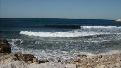 Surf report FR, Sausset les Pins - Plage du Port (13) du 2008-06-04 12:00:00