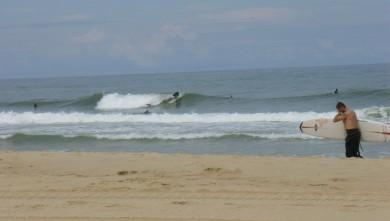 Surf report FR, Seignosse - Les Bourdaines (40) du 2008-06-08 12:00:00
