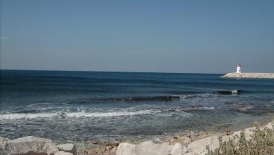 Surf report FR, Sausset les Pins - Plage du Port (13) du 2008-06-12 12:00:00