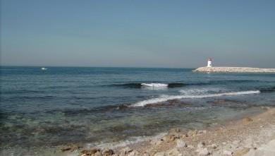 Surf report FR, Sausset les Pins - Plage du Port (13) du 2008-06-19 12:00:00
