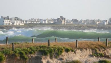 Surf report FR, Pors Carn (29) du 2008-06-25 12:00:00