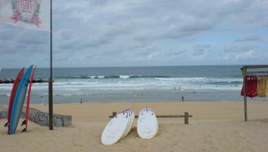 Surf report FR, Cap-Ferret - Plage de L'Horizon (33) du 2008-07-12 12:00:00