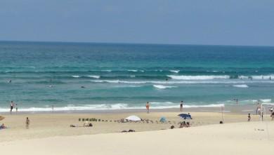 Surf report FR, Mimizan - Plage Sud (40) du 2008-07-16 12:00:00