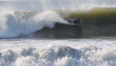 Surf report FR, Le Gurp (33) du 2008-02-10 16:00:00