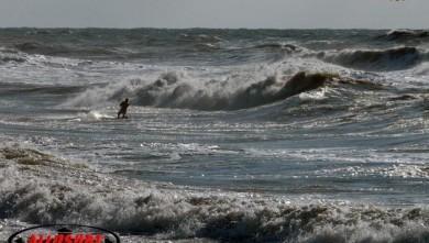 Wind report FR, Lacanau Océan - La Nord (33) du 2008-03-22 17:00:00