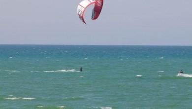 Wind report FR, Mimizan - Plage Sud (40) du 2008-04-05 17:00:00